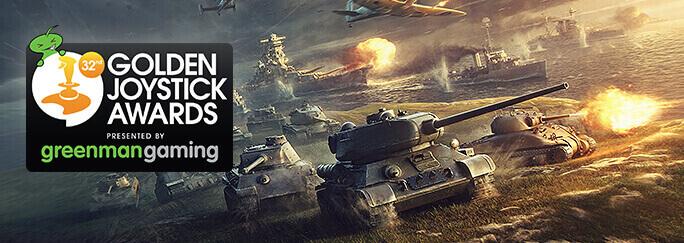 Wargaming Videogames Nominated for Golden Joystick Awards ...