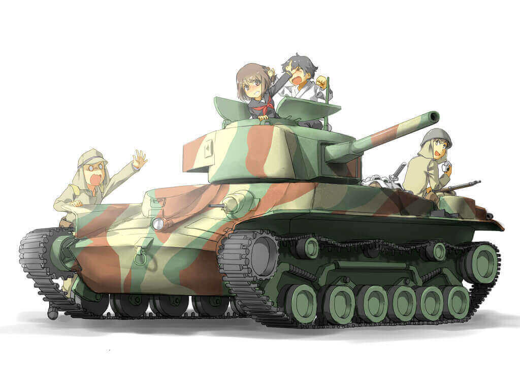 Japanese Tank Fanart Contest Results | Contests | News