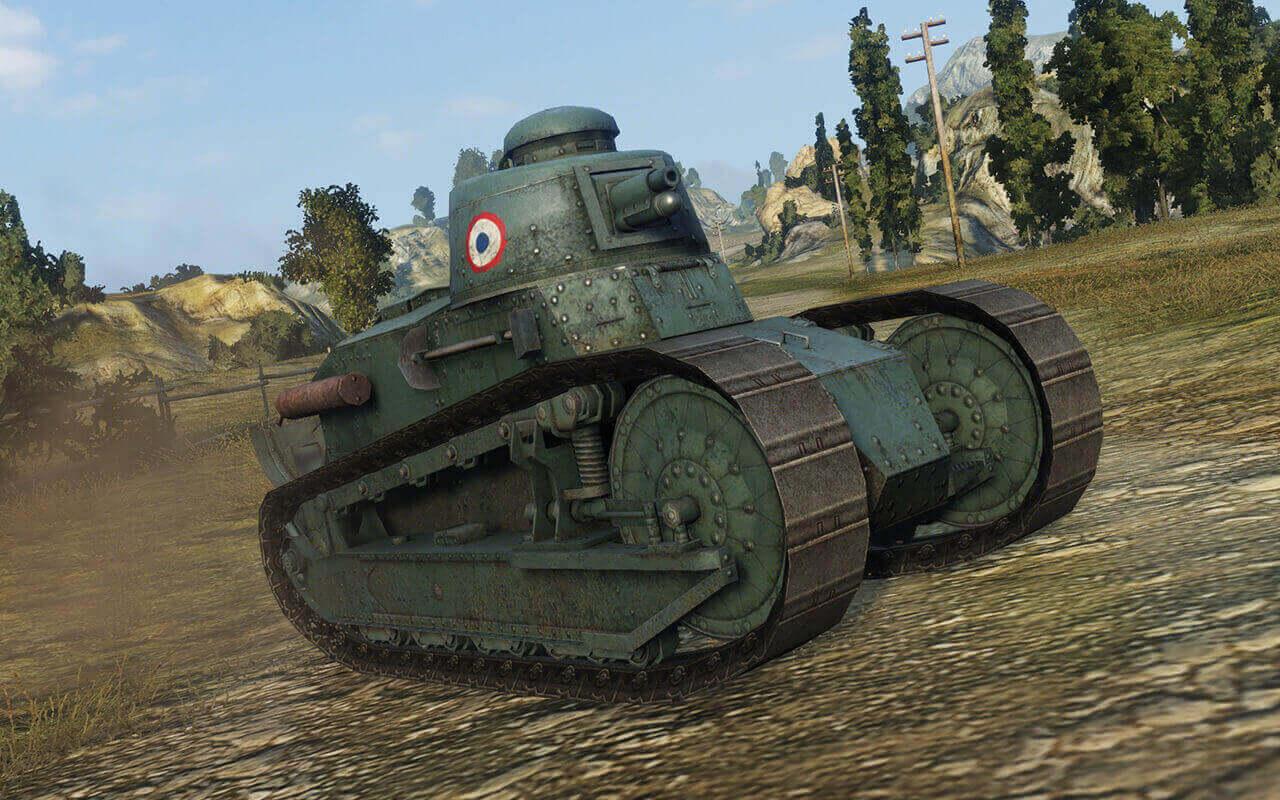 Tank Illustrations Quot Artist S Choice Quot Part6 Renault Ft