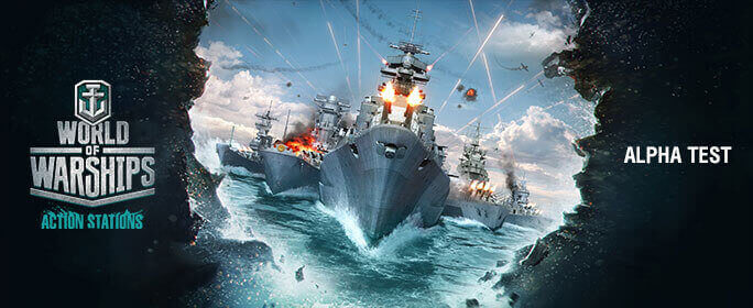 We need YOU for the World of Warships Alpha Test