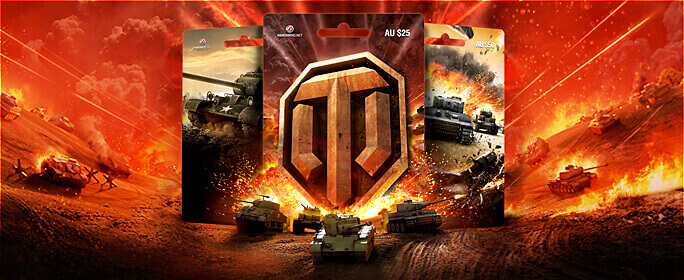 Payment with Wargaming Prepaid Cards| Guide | World of Tanks